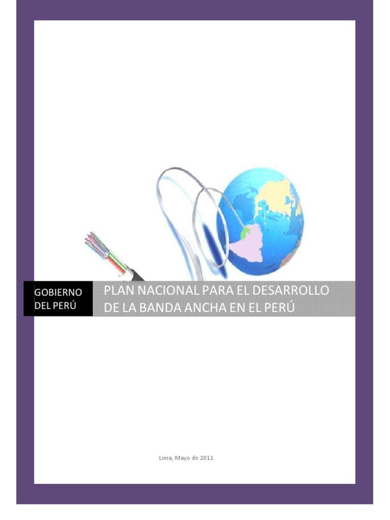 5c4f3c25a42 Plan Nacional de Banda Ancha