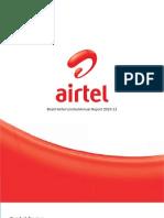 Bharti Airtel Annual Report Full 2010-2011