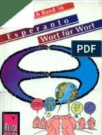 Dahmann, Klaus - Pusch, Thomas - Esperanto Wort Für Wort - Deutsch