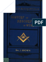 History of Masonry in Wigan - j Brown