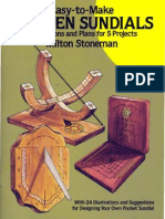 Easy to Make Wooden Sundials