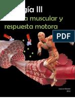Biología III FISIOLOGÍA MUSCULAR