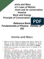 Inertia and Mass