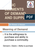 Slides on Demand and Supply