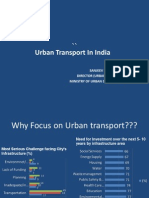 Urban Transport in India