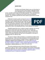 Shisler v Sanfer Sports Cars - Case Study