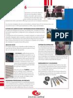 Documentación Técnica de la fresadora CNC SGB KX1216