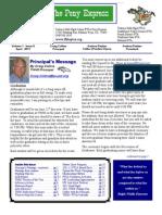 April 2011 PTSA Pony Express Newsletter