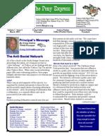 March 2011 PTSA Pony Express Newsletter