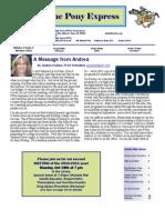 Oct 2010 PTSA Pony Express Newsletter