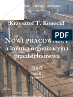 Nowi Pracownicy a Kultura Org