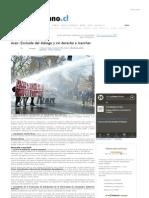 El Ciudadano » Aces_ Excluida del diálogo y sin derecho a marchar