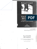 Sennett, Richard - La Corrosion Del Caracter. Las Consecuencias Person Ales Del Trabajo en El Nuevo Capitalismo[1]