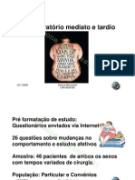-POS-OPERATÓRIO CIRURGIA BARIÁTRICA