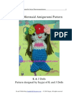 Little Mermaid Amigurumi Pattern