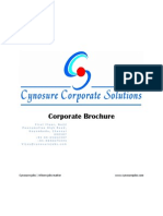 2011 Cynosure Corporate Brochure