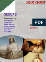 Presentation Jesus Christ