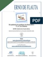 Cuaderno flauta 5º y 6º primaria