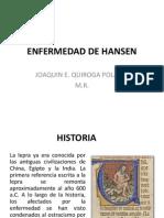 ENFERMEDAD DE HANSEN