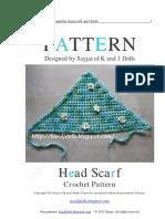 Head Scarf Crochet Pattern