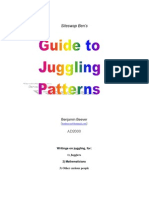Guide to Juggling Patterns