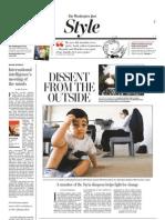 Washington Post Style 9-3-2011 Pp 1-2