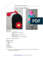 Flower Key Cozy Crochet Pattern