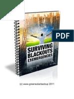 Surviving Blackouts
