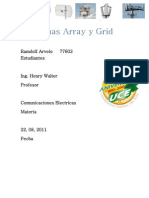 Antena Array y Grid