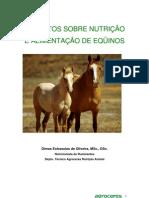 ASPECTOS SOBRE NUTRIÇÃO E ALIMENTAÇÃO DE EQUINOS