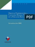 Marco Curricular de Educacion Basica Actualizacion 2002