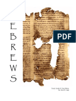 Hebrews Epistle - Class Worksheets
