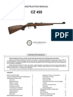 Instruction Manual CZ 455