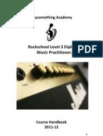 Course Handbook Level 3 PS RS Dip