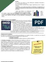 1_1 Conceptos de estadística y su clasificación