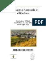 III Convegno Nazionale Di Viticoltura
