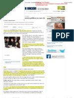 Gobierno apostará por inversión pública en caso de crisis mundial - ECONOMÍA - La Nación