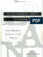 Lacan, The Four Fundamental Concepts of Psychoanalysis