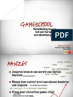 ThesisPresentatie - Gameschool