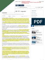 Solis. Acuerdo sobre deuda en EE. UU._ respuesta nacional - OPINIÓN - La Nación