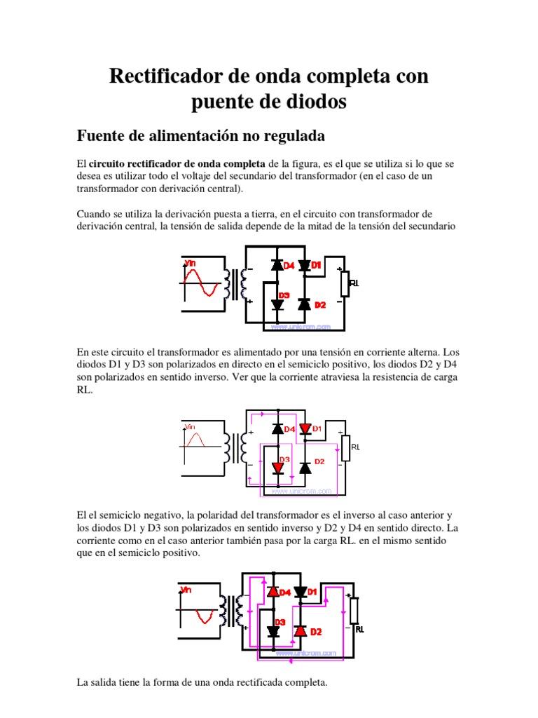 Circuito Onda : Circuito rectificador de media onda easyeda