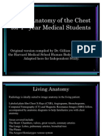 Living  Anatomy of  the Chest.   Dr. Gilliam  Lieberman   Harvard  Medical  School