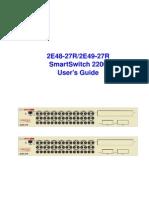 Manual Smart Switch 2200
