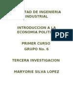 Investigación de Economía