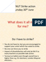 What Does Strike Action Mean for Me