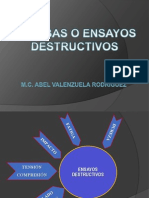 ENSAYOS DESTRUCTIVOS