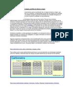 Simbología litológica para mapas y perfiles en blanco y negro
