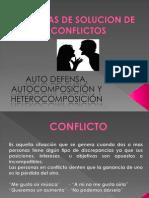 SOLUCION DE CONFLICTOS