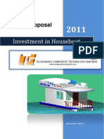 Marine Project Proposal - Houseboat