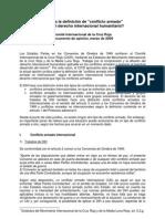 Opinion Paper Armed Conflict Es Conflicto Armado Conceptos